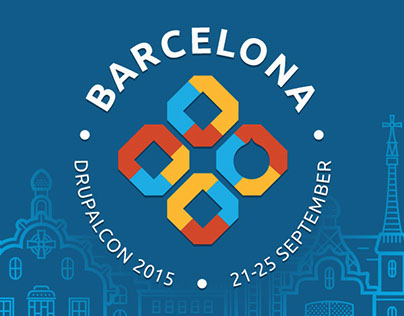 DrupalCon Barcelona website development