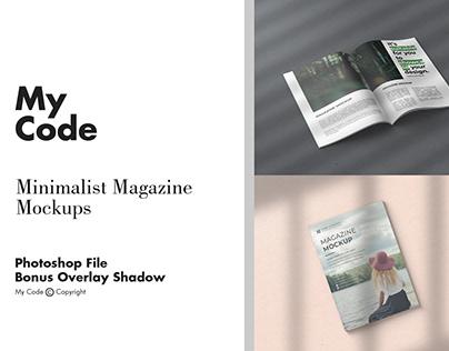 Mimimalist Magazine Mockups Vol. 2