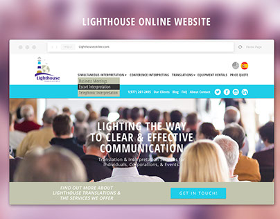Lighthouse Online Website