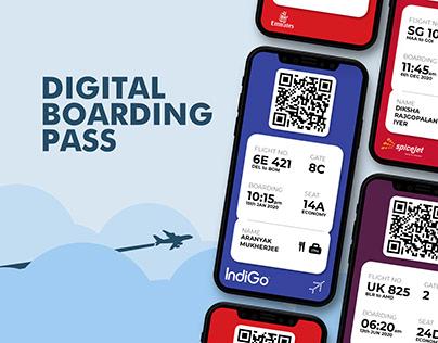 Digital Boarding Pass