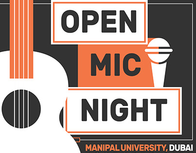 Poster Design: Open Mic Night