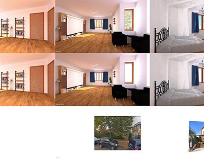 3D Render: House, Flushing