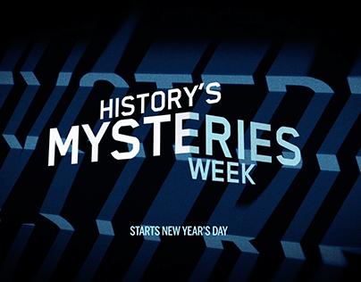 HISTORY MYSTERIES WEEK