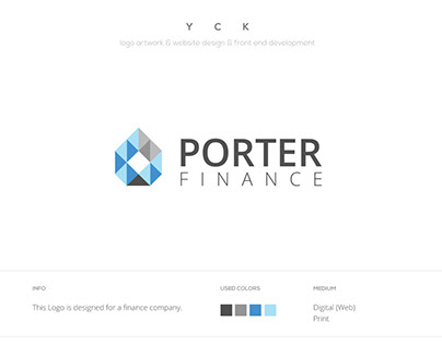 Porter Finance - Logo + Website + Landing Page + Banner