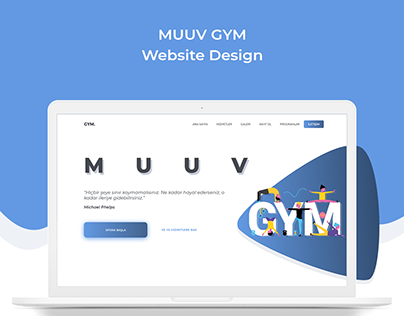 MUUV GYM Website Design