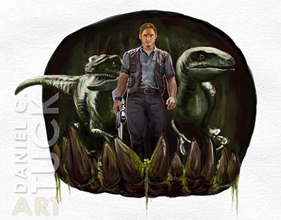 Jurassic World Fan Art