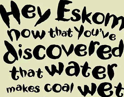 Nando's - Eskom shuts down due to wet coal, negligence.