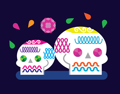 Google+ Day of the Dead Cover Photo