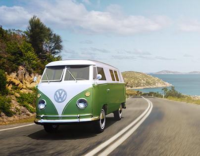 1963 VW Split Screen Camper Van