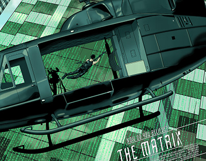The Matrix alternative movie poster
