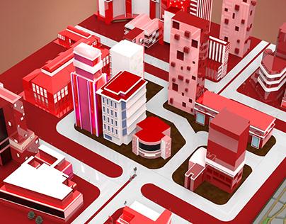 Arfadia 3D Map City