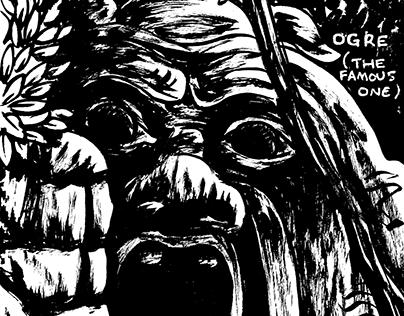 Zach Schuster's Stereotypical Post-Grad Trip Sketchbook