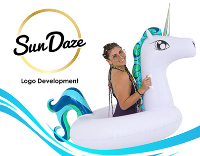 Sun Daze Floats Logo Development