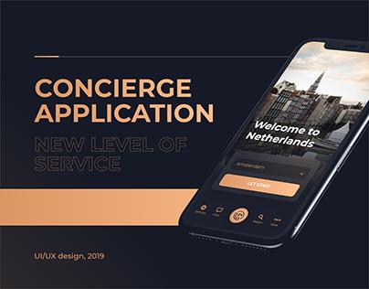 Concierge service Application