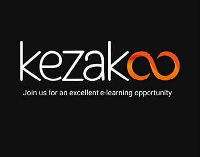 Kezakoo: E-Learning App Case Study UI/UX