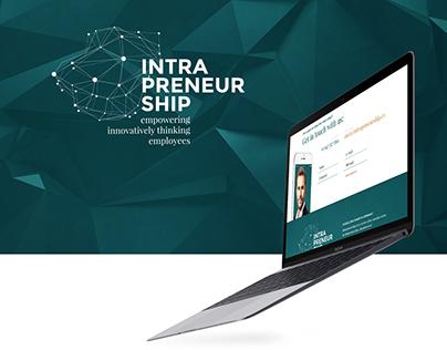 Intrapreneurship - Web & Corporate Design