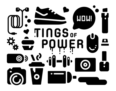 TINGS OF POWER | Icons for PC