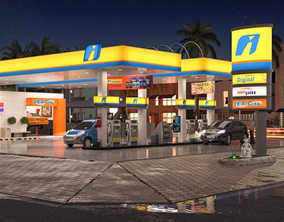 Posto de combustível - Fast Flex