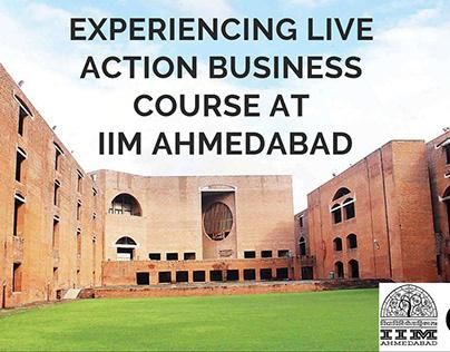 Entrepreneurship course at IIM Ahmedabad