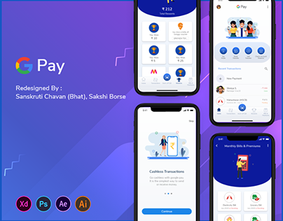 Google Pay Redesign Concept