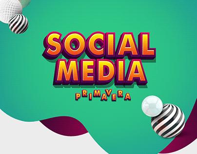 Primavera Social Media Campaigns