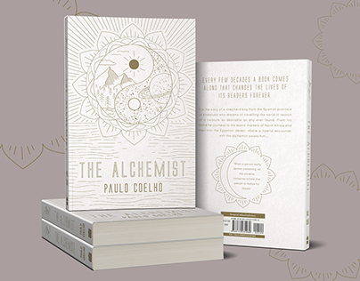 The Alchemist Book Cover Mock Up