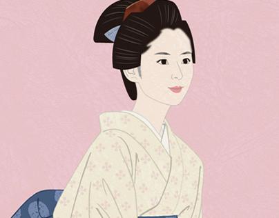 Wife of the samurai