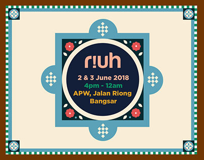 Riuh in the City June 2018 Event Visual