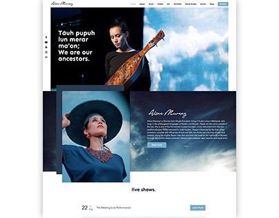 Alena Murang Artist & Musician Website