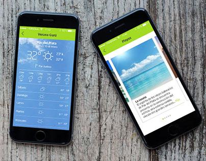 Verano_Gurú / Aplicación Móvil diseñada por Tholon