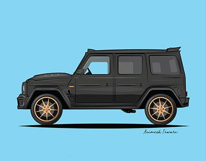 Car Series on Adobe Illustrator