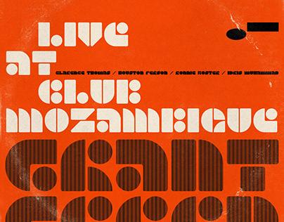 GEO · modular typeface