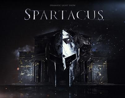 Spartacus° Dramatic light show
