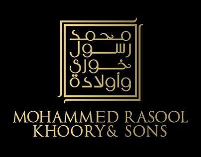 Mohammad Rasool Khoory & Sons Branding