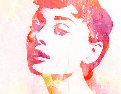 Audrey Hepburn in Colors