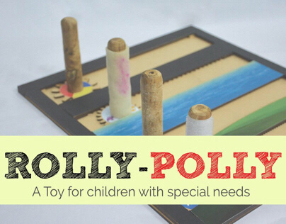ROLLY POLLY (A toy for Children with Special needs)