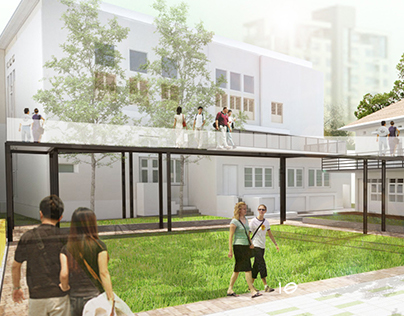 DESIGN CHALLENGE I Gedung Gas Negara as Creative Hub