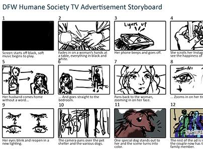DFW Humane Society TV Advertisement