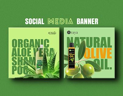 SOCIAL MEDIA BANNER DESIGN | INSTAGRAM POST DESIGN