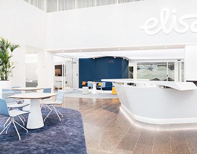Lobby Design Elisa Main Office