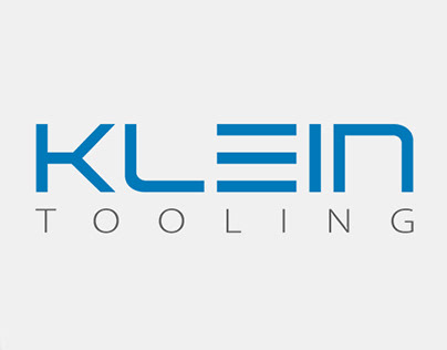 Klein Tooling logo and advertisement