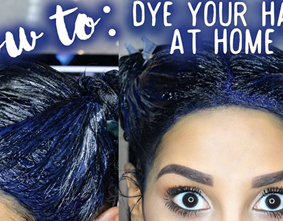Blue hair: how to get color, care and photos