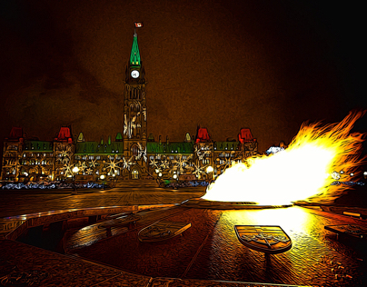 Flame and Parliament