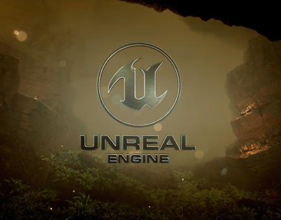 Unreal Engine NATURALISTIC Logo Animation