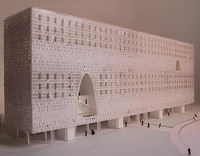 Proyecto UI Materialidad / Envolvente en cerámicos