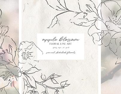 Show More Apple Blossom - Modern Floral Art
