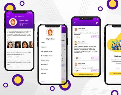 Interest Based Chat Application