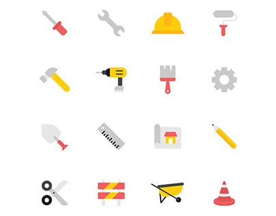Construction Icons Set 02