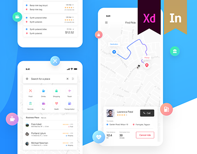 Nickel Ride | Ride sharing App