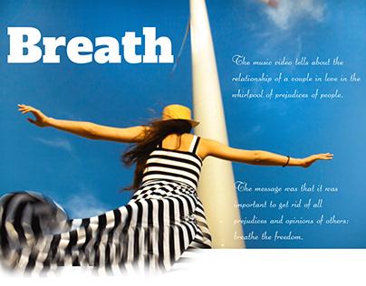 Breath - music video